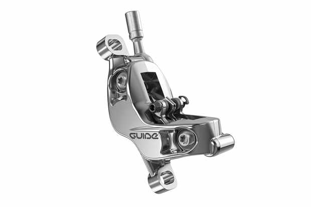 The S4 caliper features some neat technology for cooler running and easier bleeding