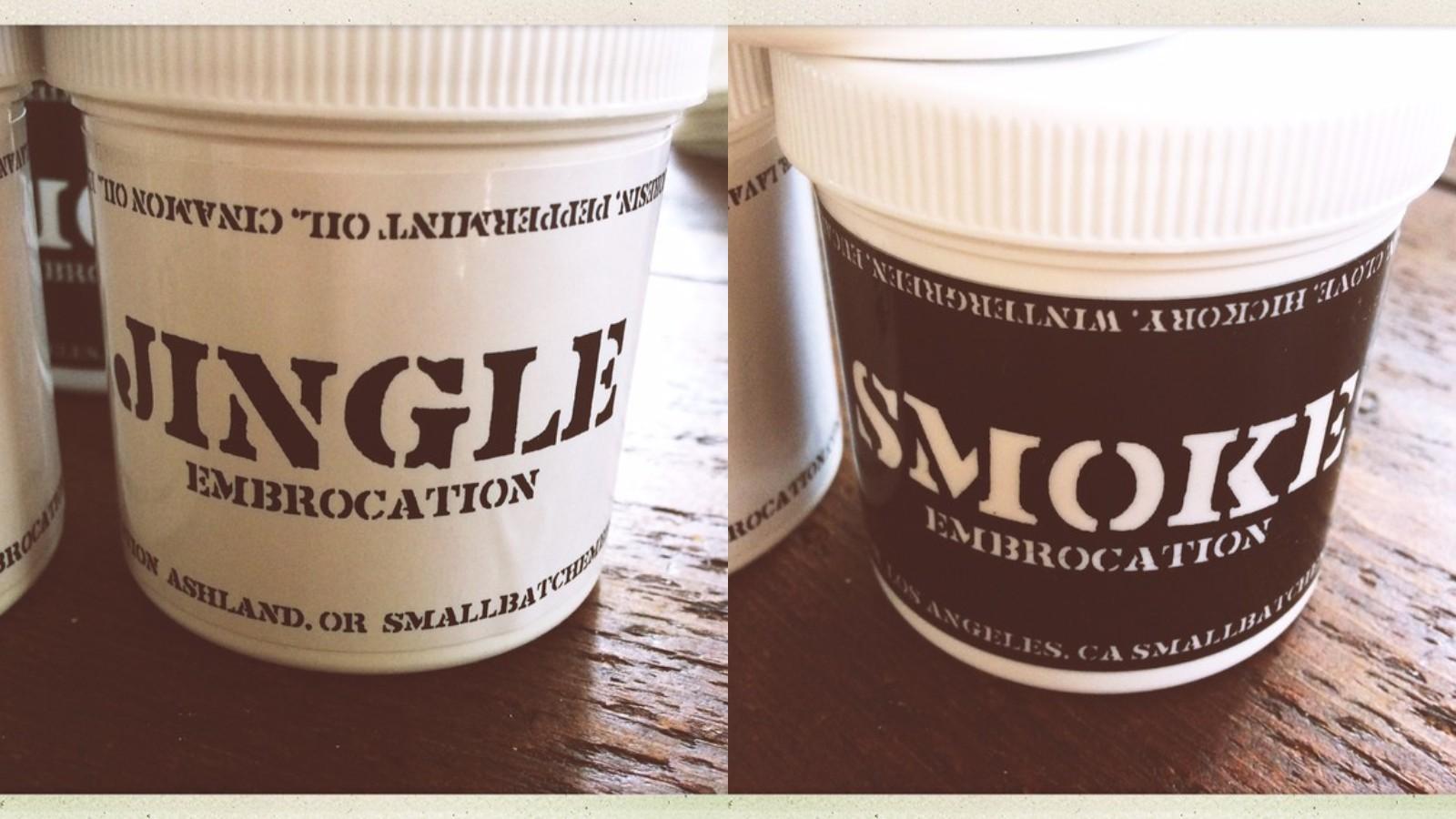 Small Batch Embrocation's Jingle and Smoke