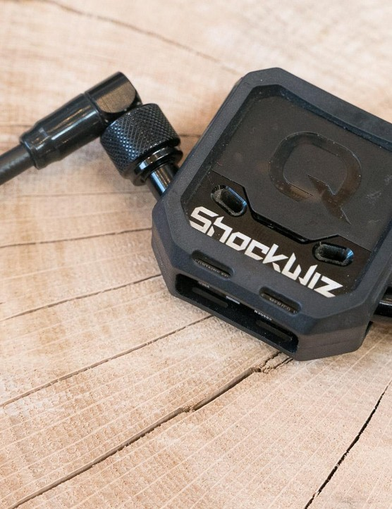 The Shockwiz was a Kickstarter project that has since been bought by suspension giant SRAM