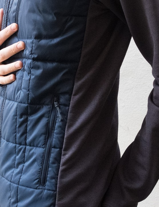 The cut of the jacket is quite long and boxy, so we'd recommend downsizing if you want to use the jacket on the bike