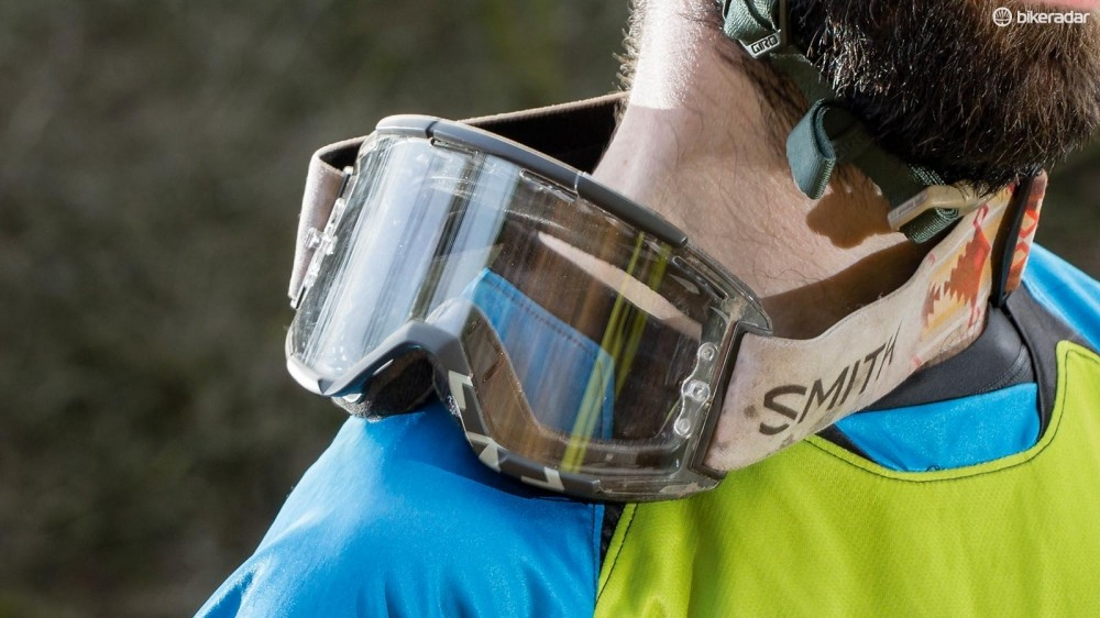 Smith's Squad MTB goggles are comfortable and maintained great visibility during testing