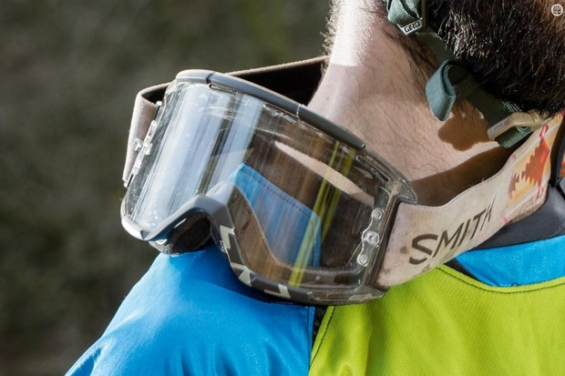 72c795e55e575 Smith s Squad MTB goggles are comfortable and maintained great visibility  during testing