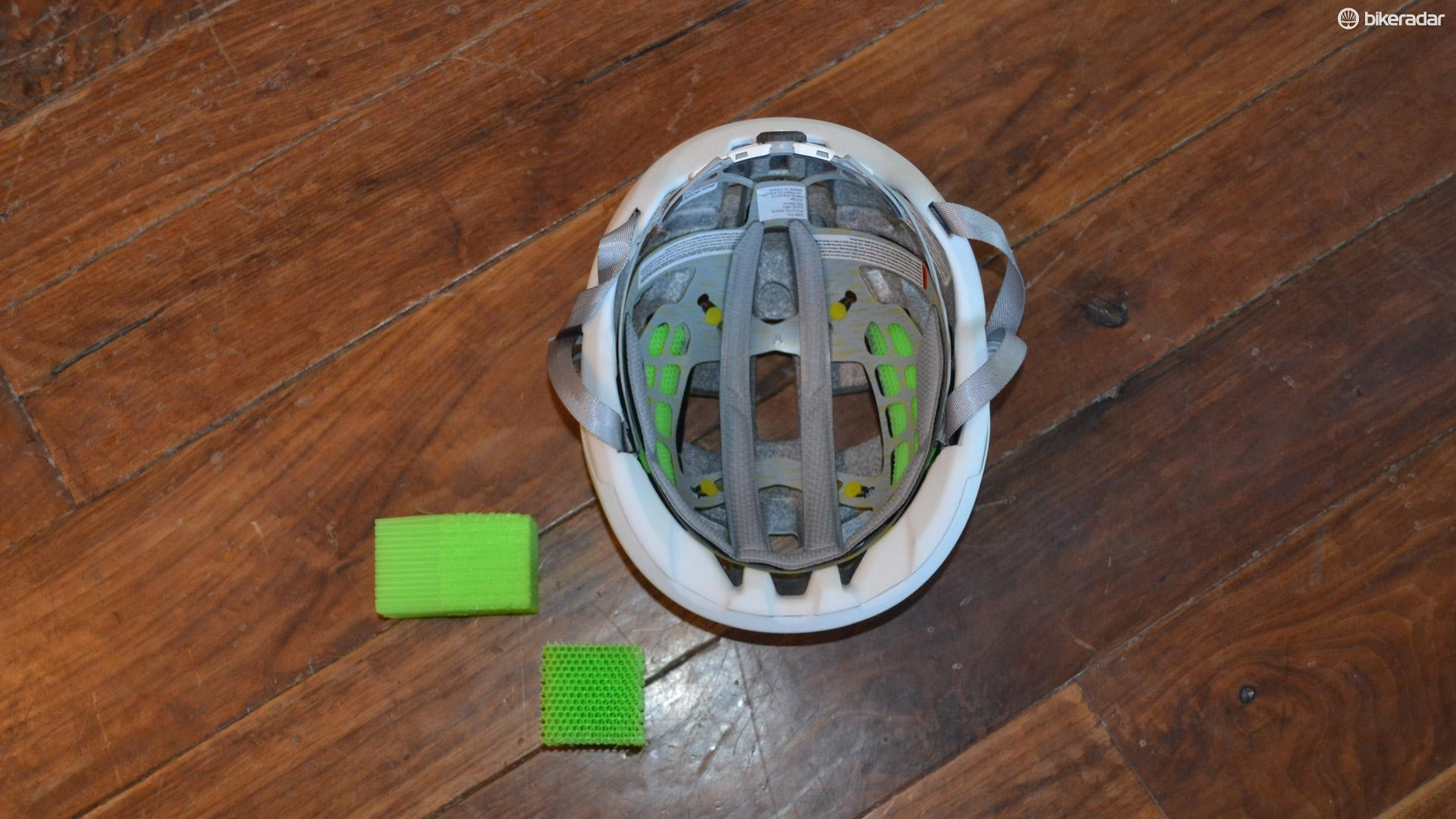 8fd72f8cad5 Protective material Koroyd (in green) is used in both the Route and Rover,