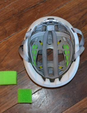 Protective material Koroyd (in green) is used in both the Route and Rover, and a MIPS liner is available for all colors