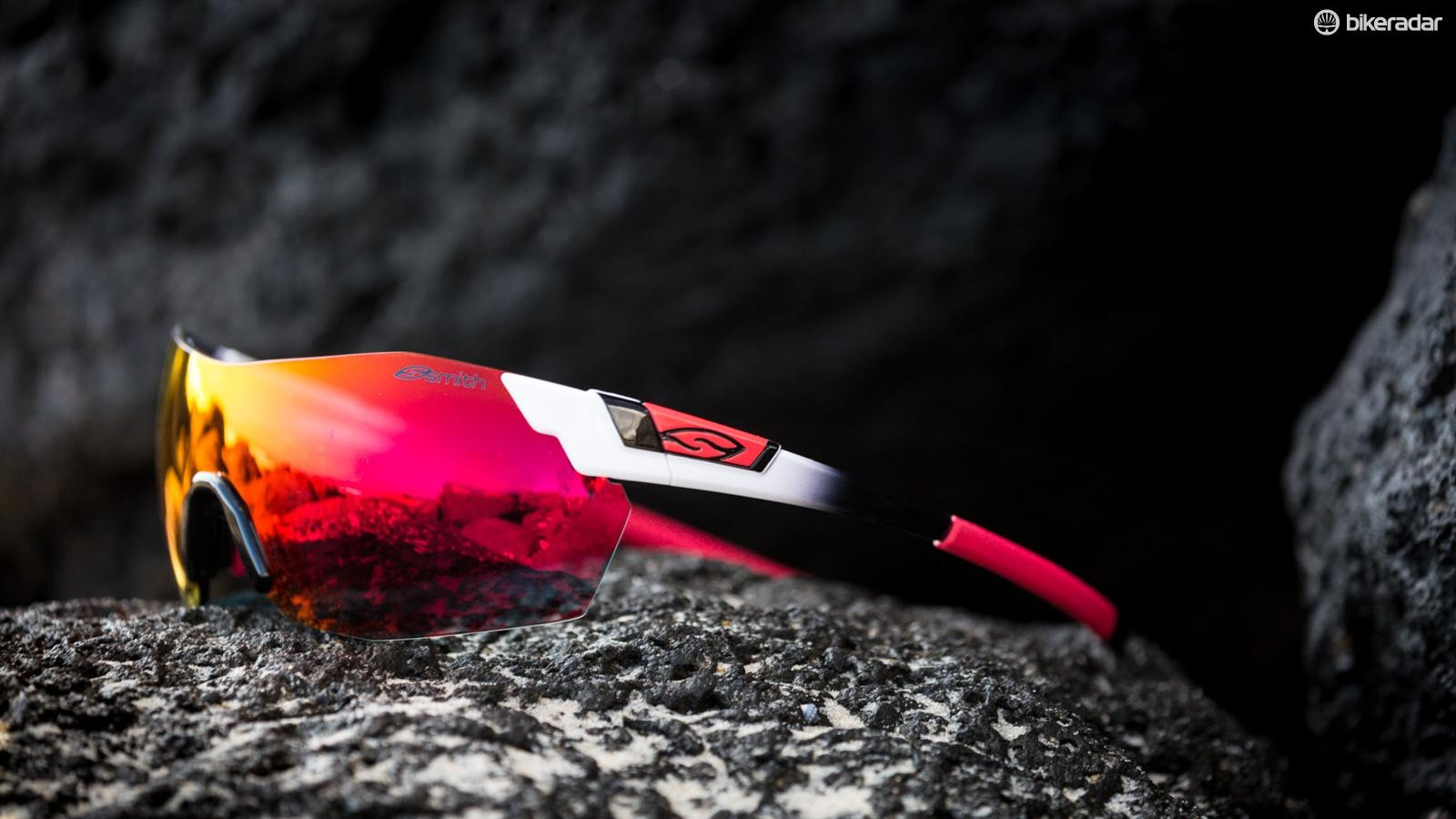 Smith's PivLock Arena Max glasses are the the Idaho-based brand's latest frameless performance sunglasses