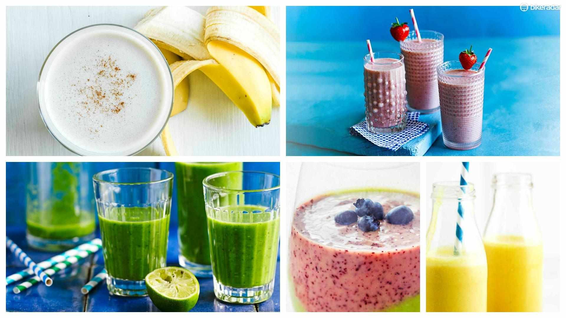 Taste a rainbow of fresh fruity flavours with these delicious smoothie recipes