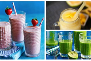 Quick to make, easy to drink, and packed full of nutritious fruit and veg