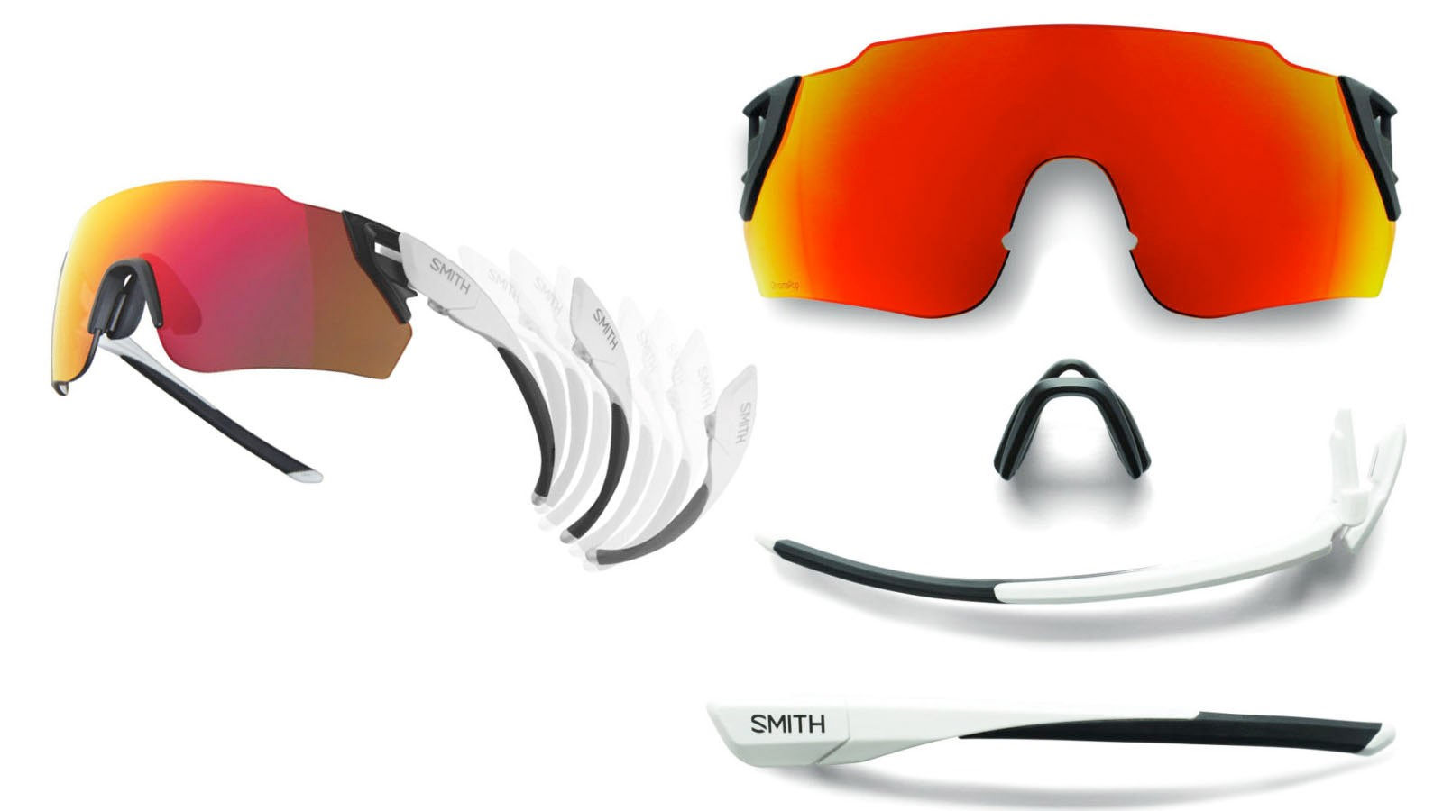 Smith's Attack sunnies use magnets for quick lens changes