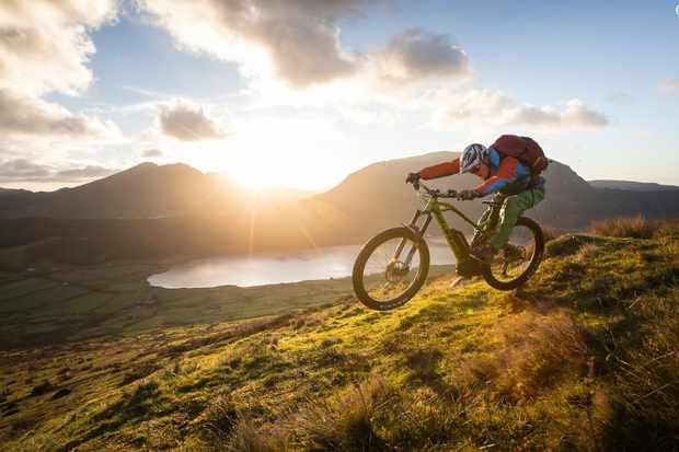 You can still get rad on an e-MTB, even if it does take a bit more effort on the descents