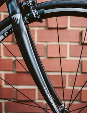 The frame accommodates 28mm tyres
