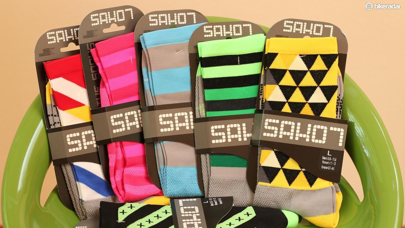 Loud socks are an essential part of every cyclist's outfit