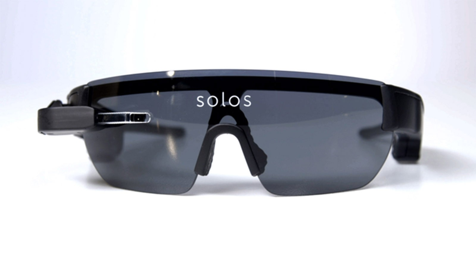 The Solos smart cycling glasses feature a micro heads-up display