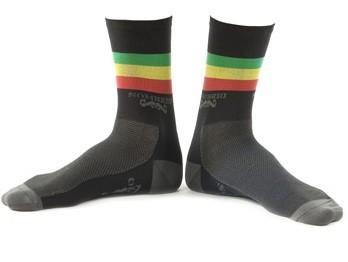 Sombrio Rasta Athletic Crew Socks