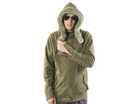Sombrio Subject Button-Up Hoody