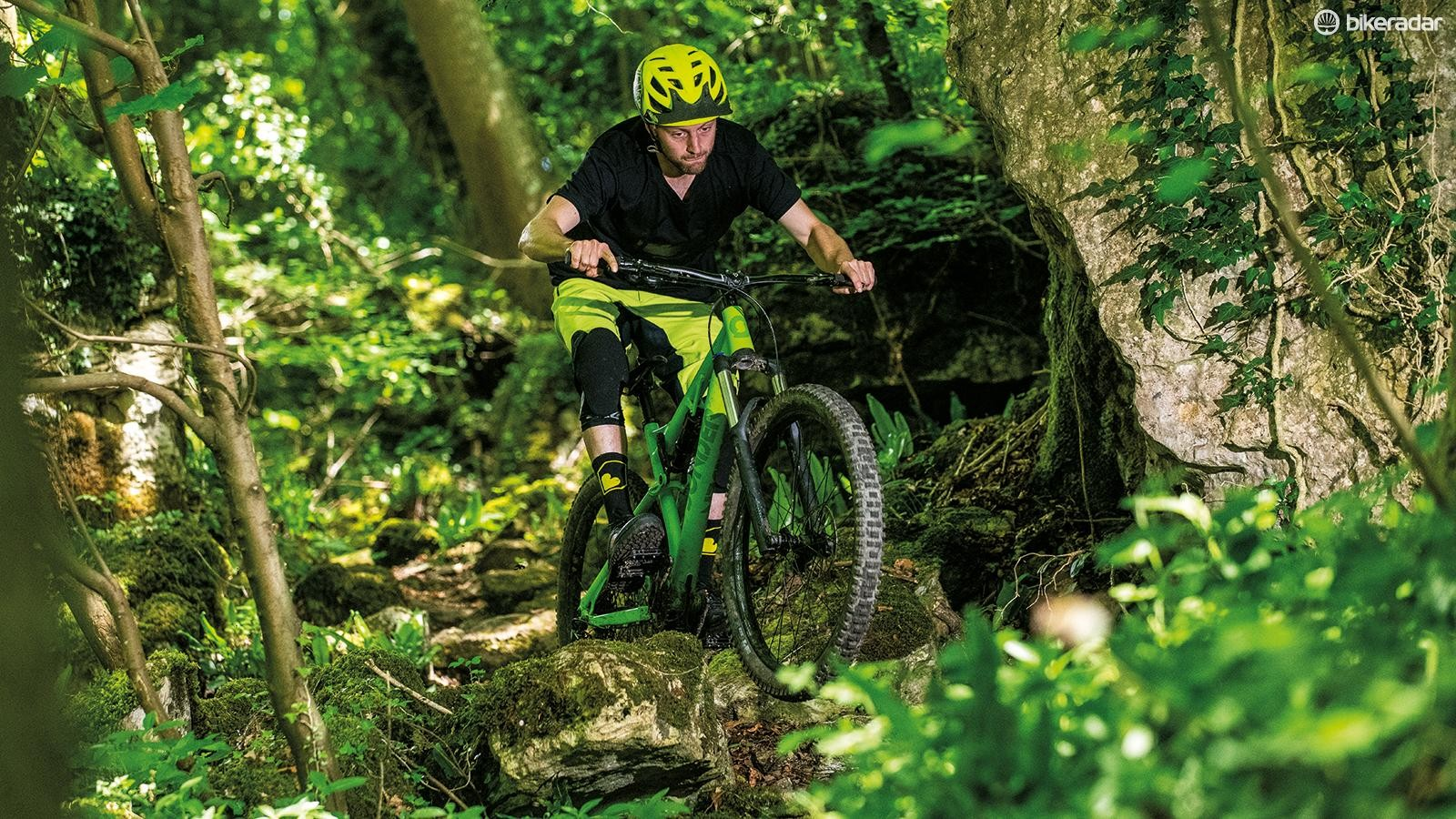 Sonder's tight-tracking, hard-driving Evol frame gives a quality feel at a reasonable price