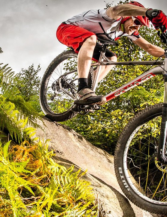 It steamrollers smoothly through all the rattling, clattering, speed-killing harshness we've always accepted as unavoidable on an affordable hardtail