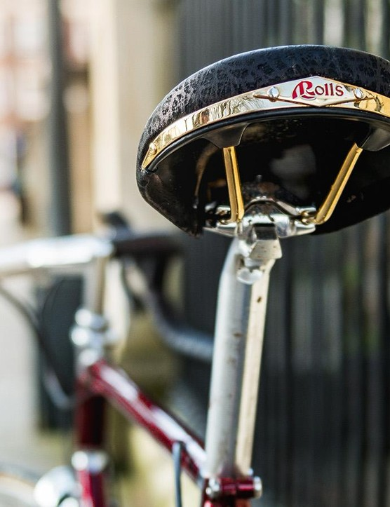 The Selle San Marco Rolls saddle