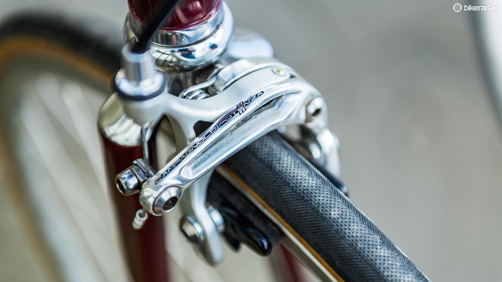 Campagnolo Potenzais on braking duties