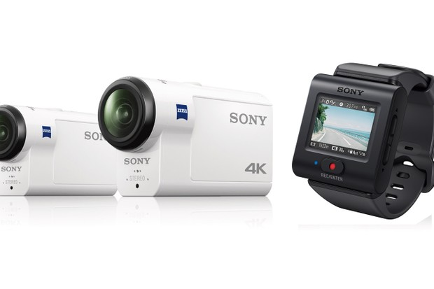 Sony's new Action Cam FDR-X300R 4k and HDR-AS300R Full HD model and live view remote