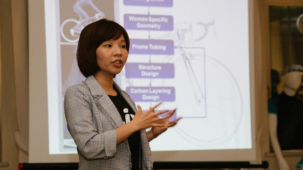 Sophia Shih uses her engineering background to design cutting-edge bikes