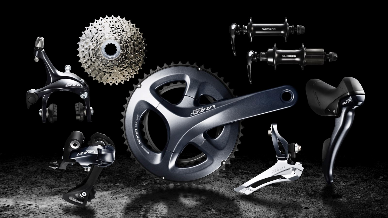 Shimano's new Sora R3000 groupset