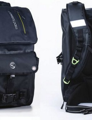 Showers Pass Transit backpack holds 42l and is built for work commutes and the urban environment
