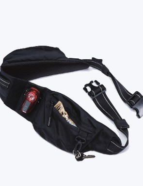 When you need considerably less storage, the waist strap from the Transit can be separated for use as a hip pack