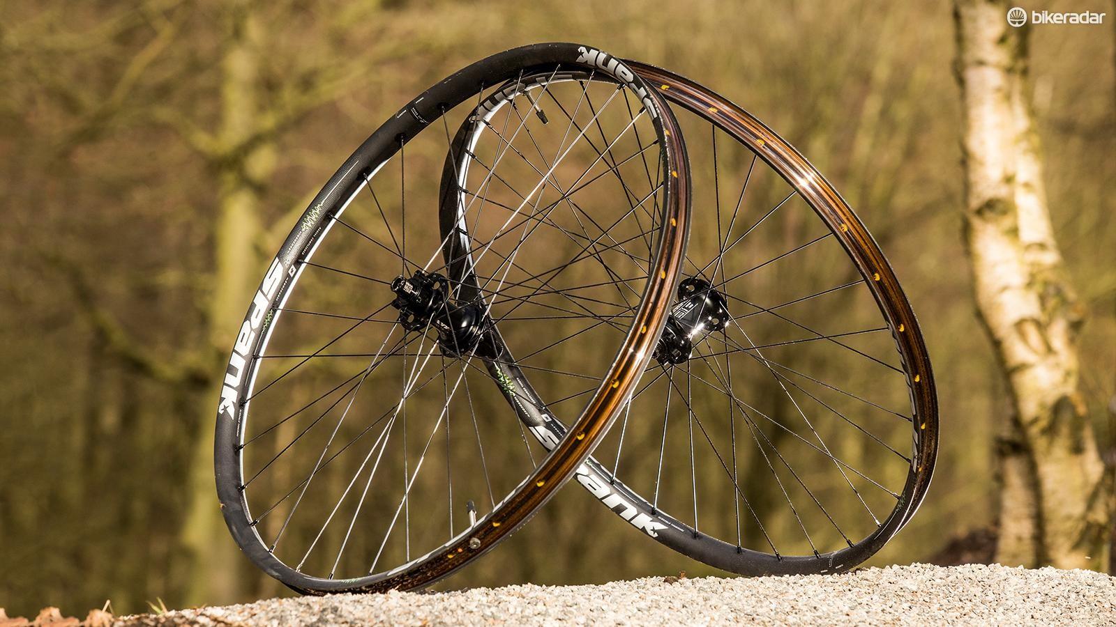 Spank's Spike 350 Vibrocore wheelset