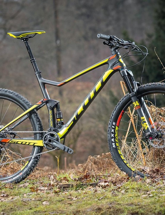 Scott's range of Spark bikes is as comprehensive as they come