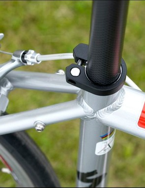 The A1 butted tubing is formed to an attractive hourglass shape when viewed from the rear