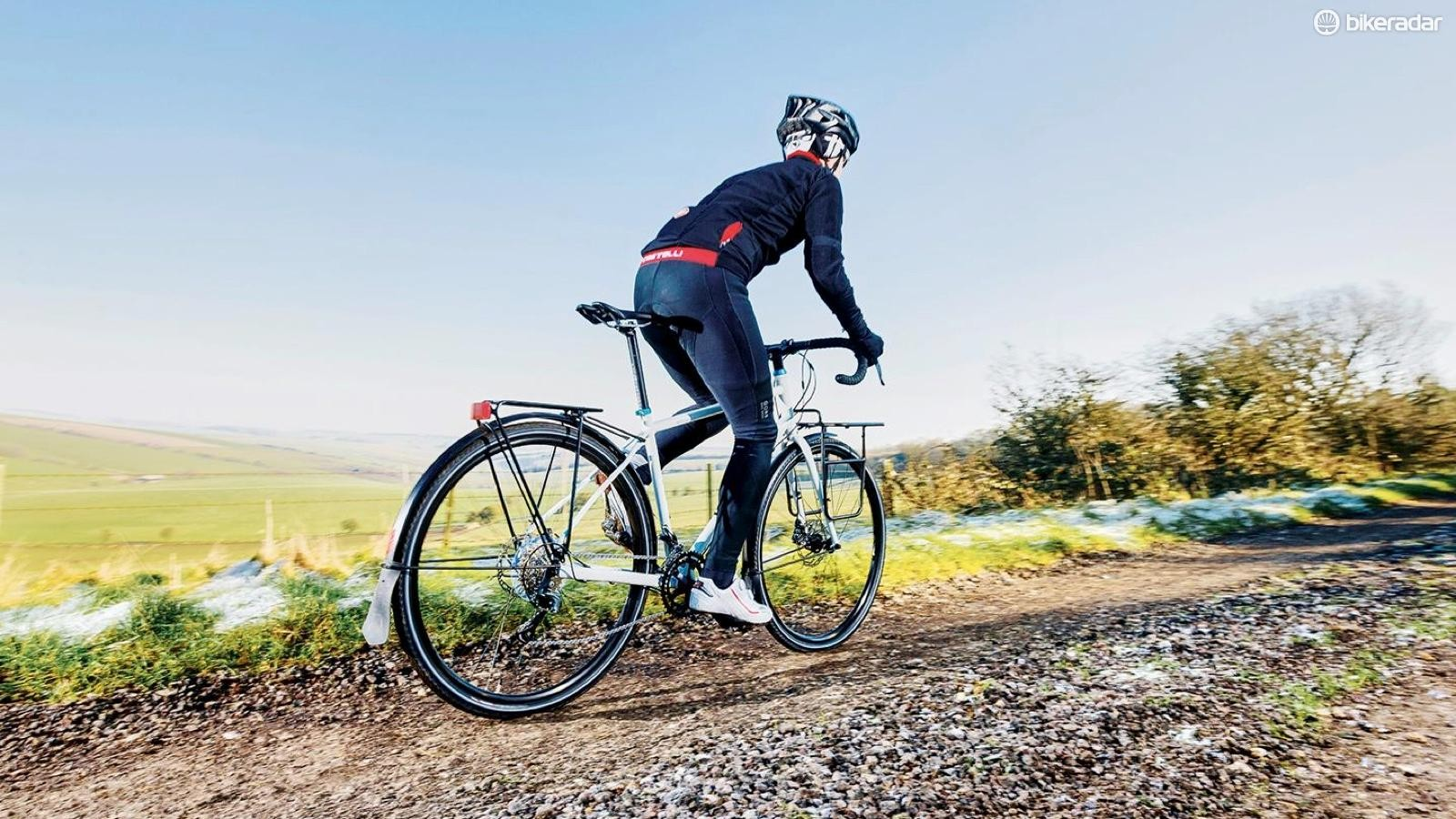Touring bikes are built to go on roads less travelled, and also make excellent commuters for rough city roads