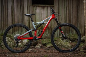 Specialized's 2017 enduro received a number of updates including the bottom bracket