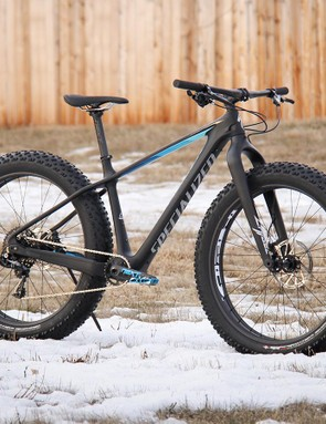 The Specialized Fatboy Expert Carbon is anything but a heavyweight