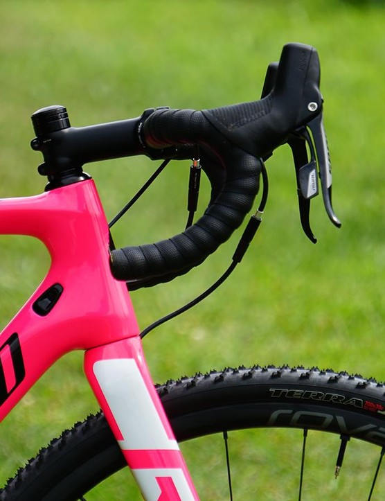 Specialized has a commitment to contact points - the short and shallow bar with comfy wrap is a big deal straight out of the box