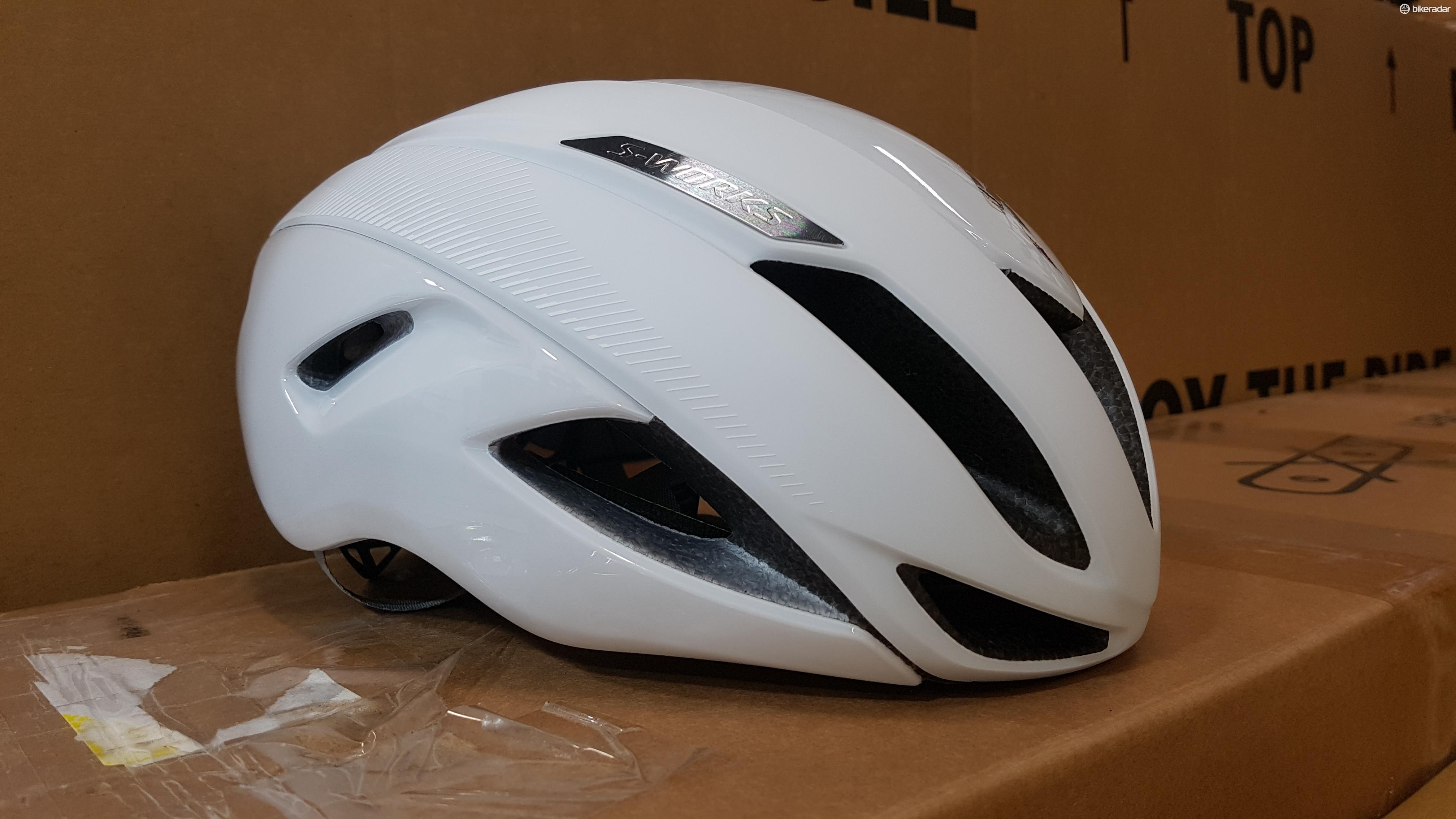 Specialized's new helmet is packed with safety features