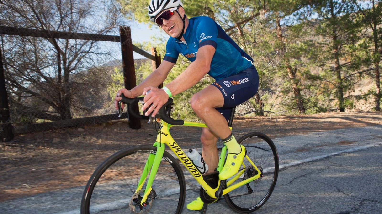 I rode the Specialized Roubaix Expert Ui2 at Peter Sagan's fundraiser gran fondo in California