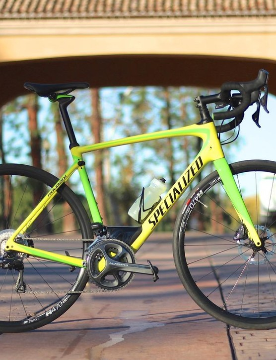 The new Roubaix has tunable front suspension
