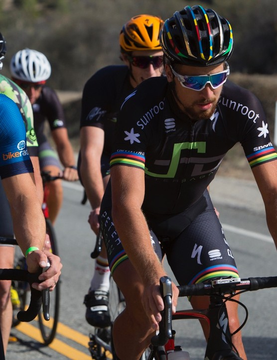 Sagan's take on road discs for pro racing: It needs be all riders on them or no one