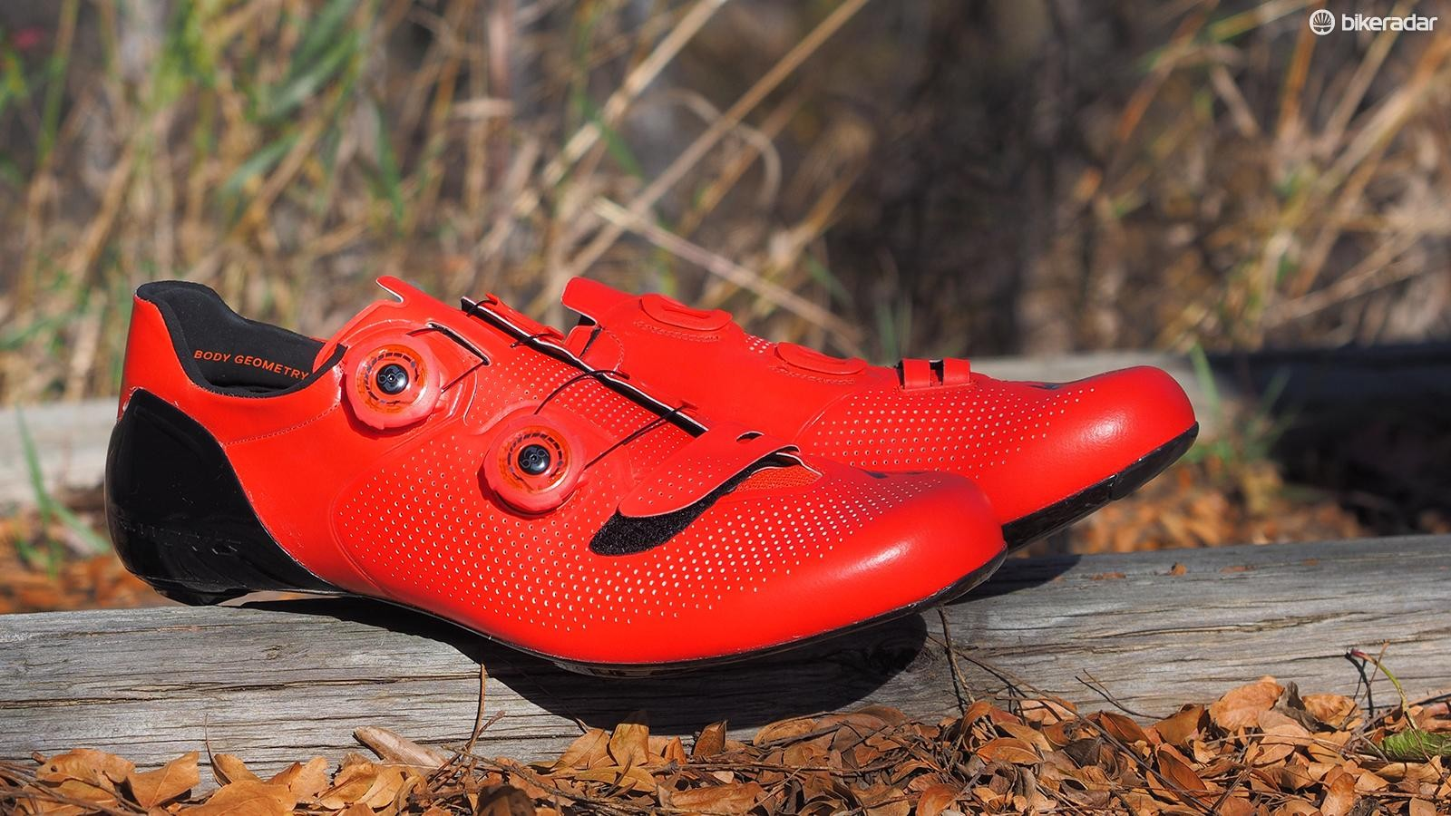 Specialized's new S-Works 6 road shoes are incredibly light for a dual-Boa shoe but also remarkably supportive and comfortable