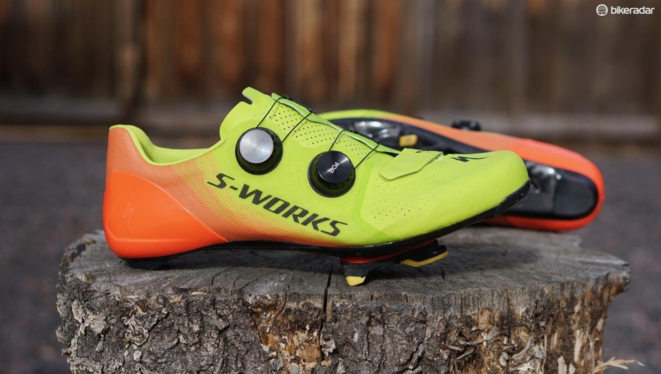 b89168ea99c The Specialized S-Works 7 road shoe is an evolution of the brand's high-