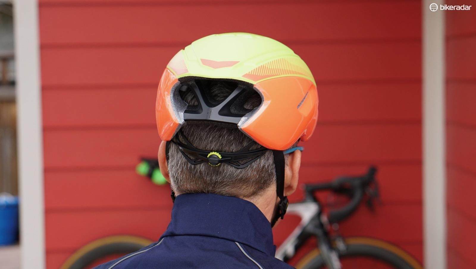 """Vents are useless if you don't have anywhere for the air to go,"" said Specialized R&D/Tech Director Chris Yu. Thus, the back end of the helmet is basically wide open"