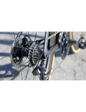 The Di2 shifting speed can be adjusted to one of five settings