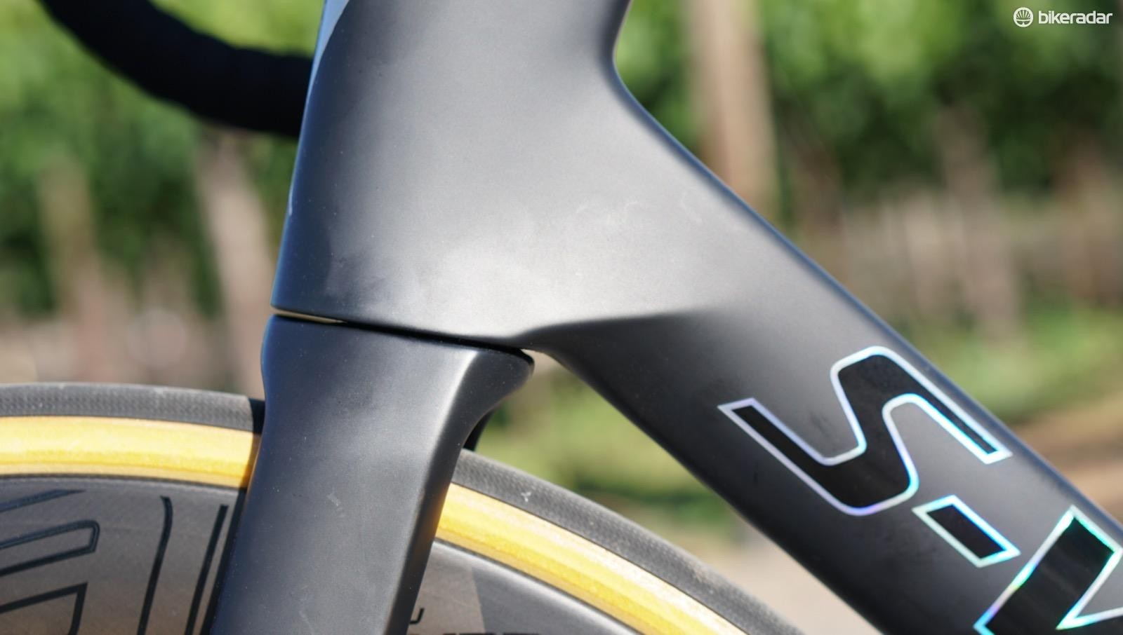 It is easy to believe the new Venge is lighter than the ViAS by looking at it (and lifting it), but for the new frame being faster, for now we'll have to take Specialized's word for it