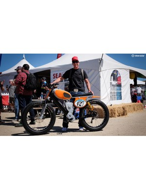 Robert Egger incorporated his love of 1970s motorcycles into this concept e-bike