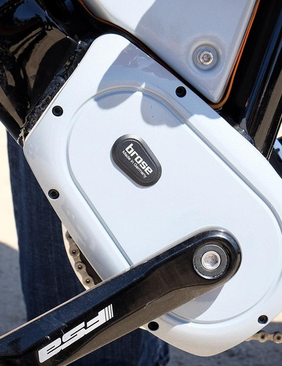 The Scrambler uses the same Brose motor as the rest of Specialized's e-bikes
