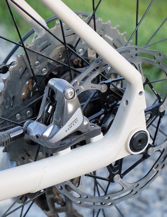 All Specialized Sequoia frames use the direct mount standard for the disc brakes
