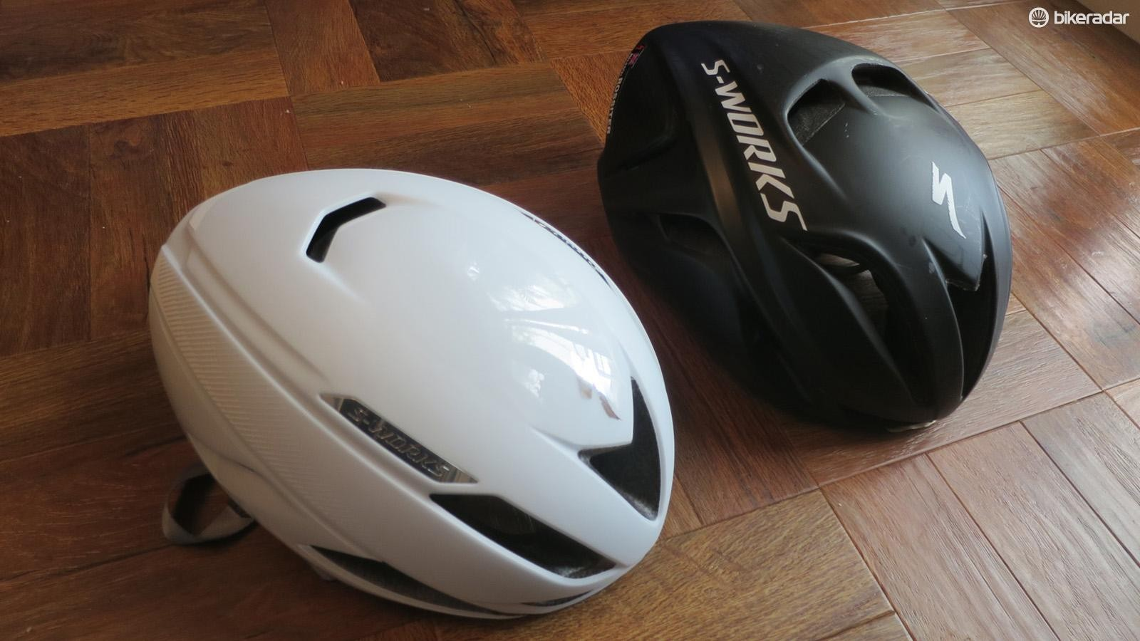 The Evade II looks smaller and sharper edged when compared to the original Evade