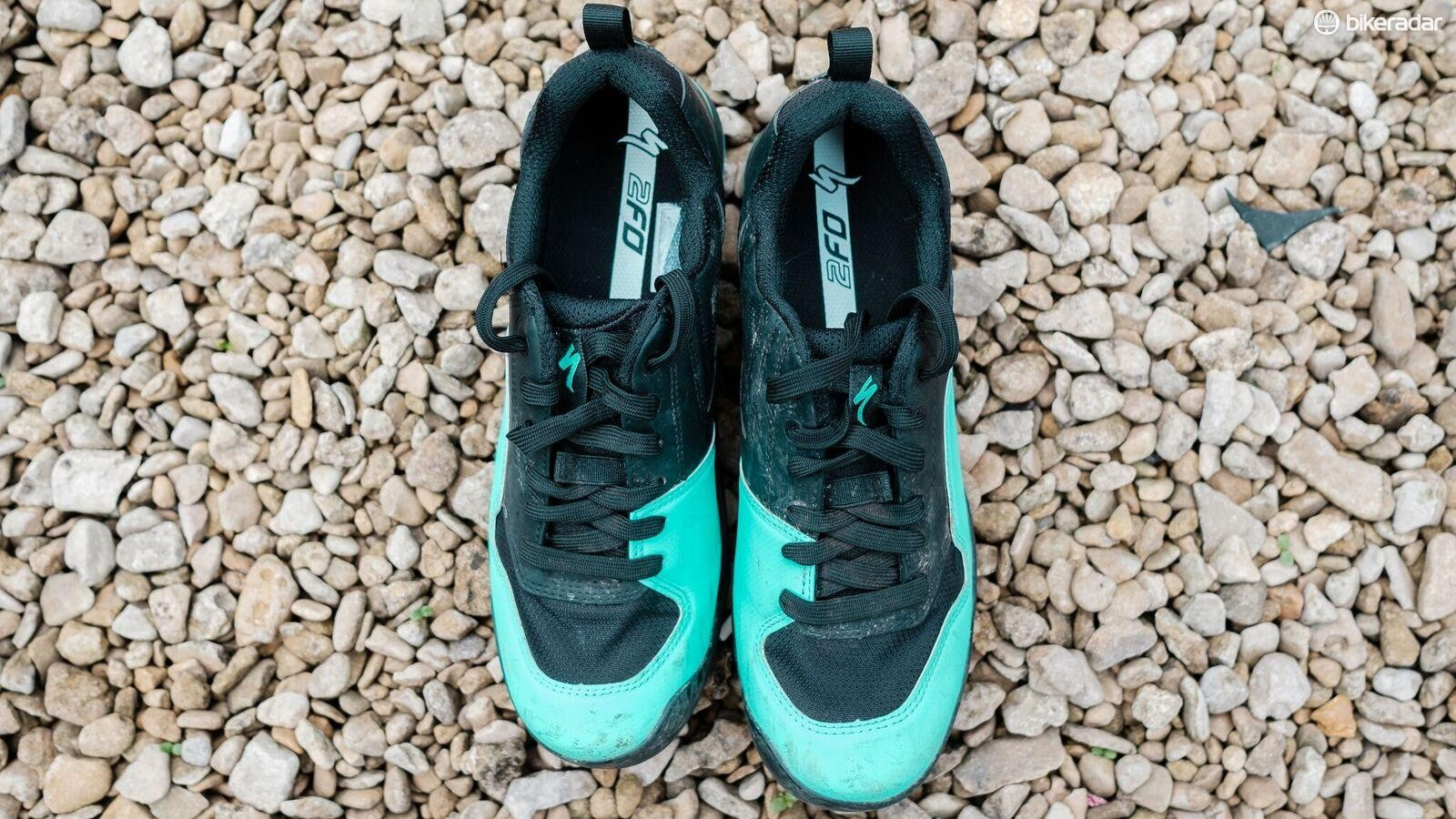 The 2FO ClipLIte Lace shoes from Specialized with a women's specific fit