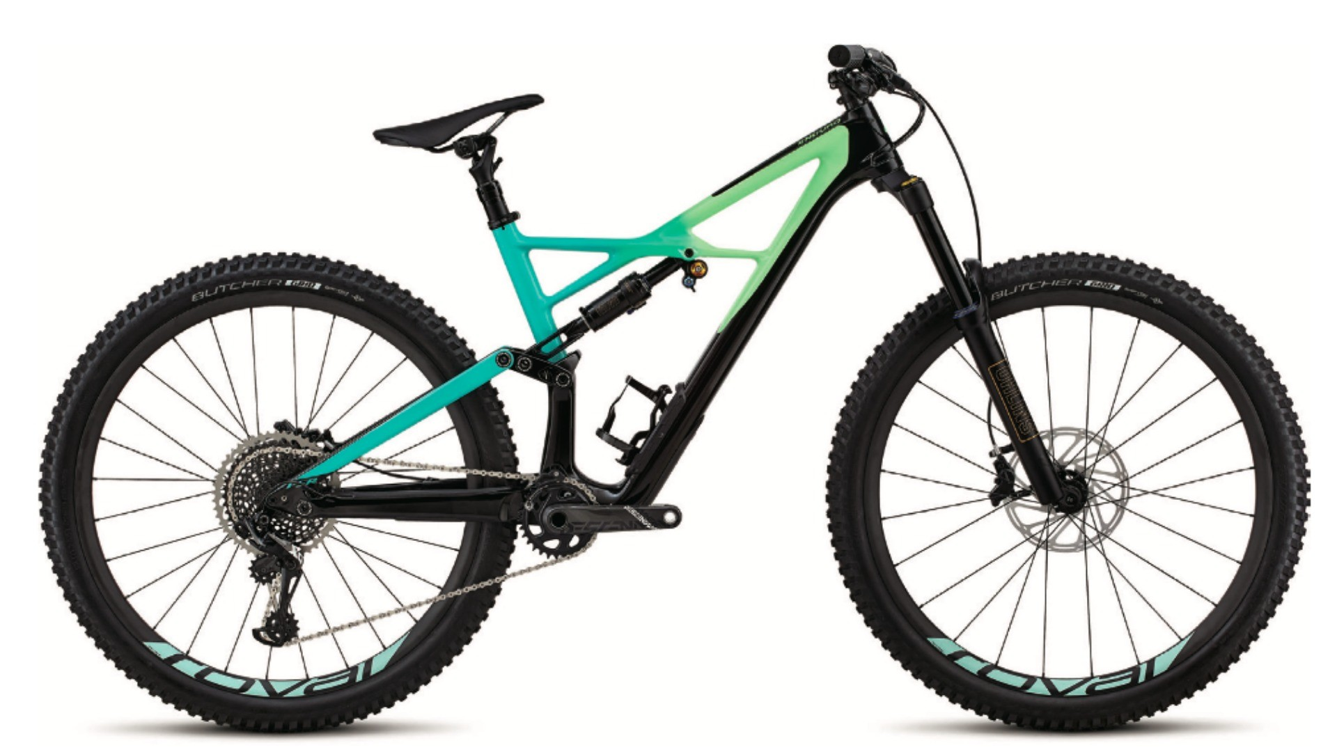 The Enduro Pro 29er has carbon frame, Öhlins suspension and SRAM 1x12 gearing
