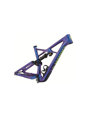 The S-Works version of 2018 Enduro is also available as this rather luscious frameset option